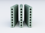 ПГП пустотелая влагостойкая плита (667*500*80мм) Forman