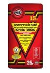 Клей плиточный ЮНИС ПЛЮС / UNIS PLUS (25 кг)