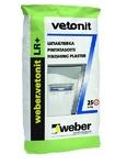 ВЕТОНИТ ЛР+ / WEBER-VETONIT LR+  шпатлевка полимерная (25 кг)